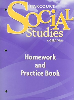Image for Harcourt Social Studies: Homework and Practice Book Student Edition Grade 1