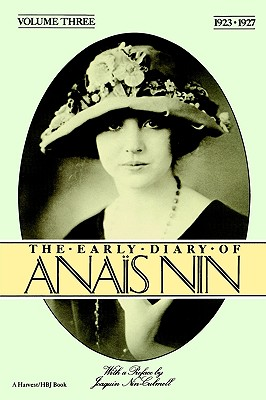 Image for The Early Diary of Anais Nin, Vol. 3 (1923-1927)