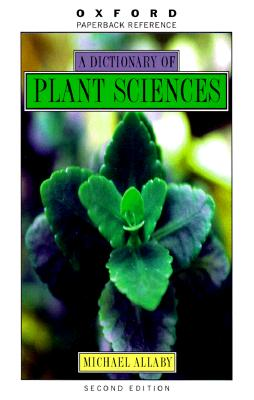 Image for Dictionary of Plant Science