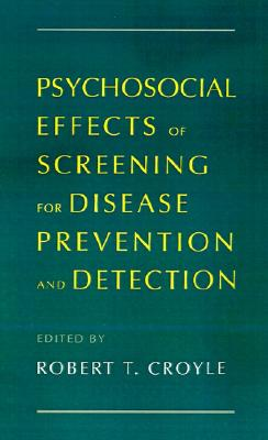 Image for Psychosocial Effects of Screening for Disease Prevention and Detection