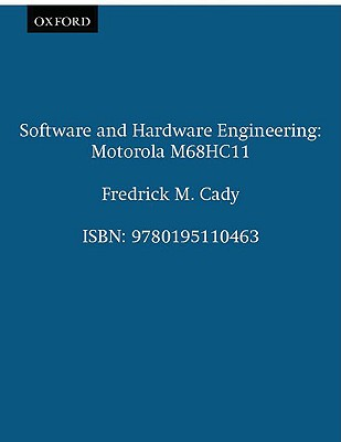 Image for Software and Hardware Engineering: Motorola M68HC11