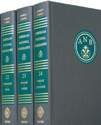 Image for American National Biography (24 Volume Set)