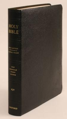 Image for The Old Scofield Study Bible, KJV, Large Print Edition (Black Genuine Leather)