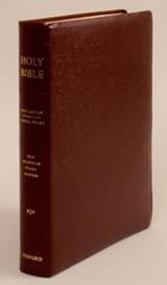 Image for The Old Scofield Study Bible, KJV, Large Print Edition (Burgundy Genuine Leather)