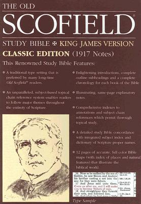 Image for The Old ScofieldRG Study Bible, KJV, Classic Edition