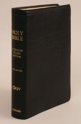 Image for The Scofield Study Bible III (New King James Version, Genuine Leather, Black, Indexed)