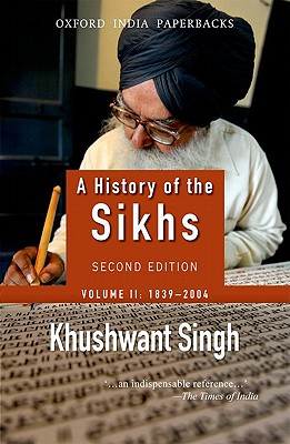 Image for A History of the Sikhs: Volume 2: 1839-2004 (Oxford India Collection) (Oxford India Collection (Paperback))