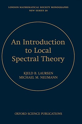 Image for Introduction to Local Spectral Theory