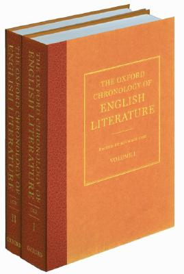 Image for The Oxford Chronology of English Literature: Two Volume Set
