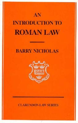 Image for Introduction to Roman Law