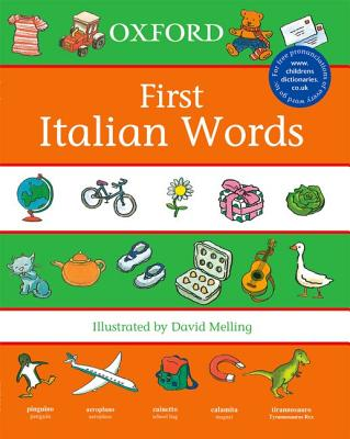 Oxford First Italian Words (First Words)