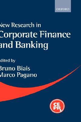 Image for New Research in Corporate Finance and Banking