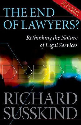 Image for The End of Lawyers?: Rethinking the nature of legal Services