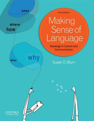 Image for Making Sense of Language: Readings in Culture and Communication