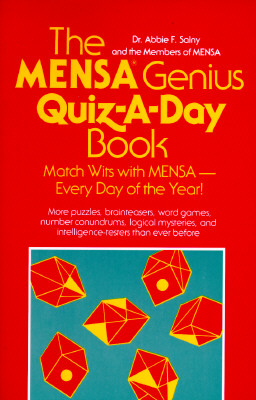 Image for The Mensa Genius Quiz-a-day Book