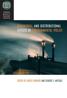 Image for Behavioral and Distributional Effects of Environmental Policy (National Bureau of Economic Research Conference Report)