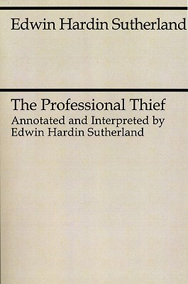 Image for The Professional Thief (Midway Reprint)