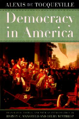Democracy in America, Tocqueville, Alexis de