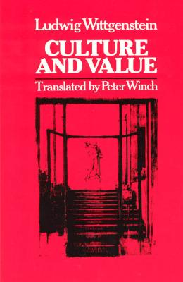 Image for CULTURE AND VALUE TRANSLATED BY PETER WINCH