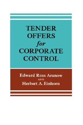 Image for Tender Offers for Corporate Control