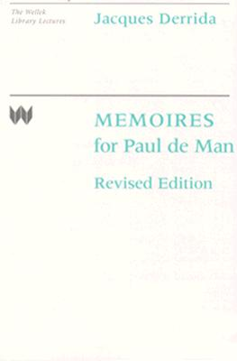 Image for Memoires for Paul de Man