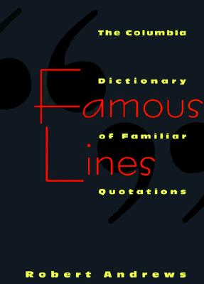 Image for Famous Lines