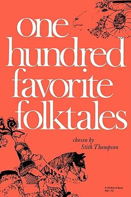 Image for One Hundred Favorite Folktales (Midland Book)
