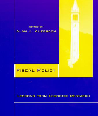 Image for Fiscal Policy: Lessons from Economic Research
