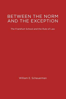 Image for Between the Norm and the Exception: The Frankfurt School and the Rule of Law (Studies in Contemporary German Social Thought)