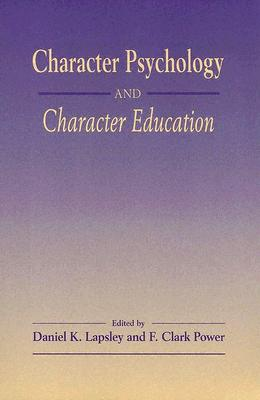 Image for Character Psychology And Character Education