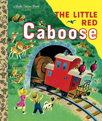 Image for LITTLE RED CABOOSE (LITTLE GOLDEN BOOK)