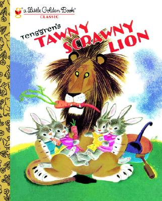 TAWNY SCRAWNY LION (LITTLE GOLDEN BOOK), JACKSON, KATHRYN