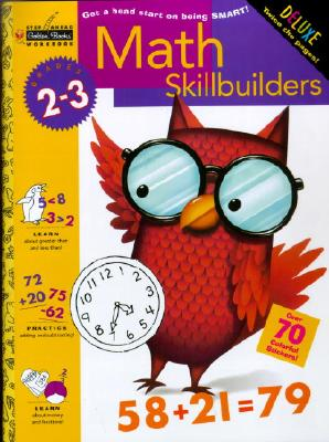 Math Skillbuilders (Grades 2 - 3) (Step Ahead), Golden Books