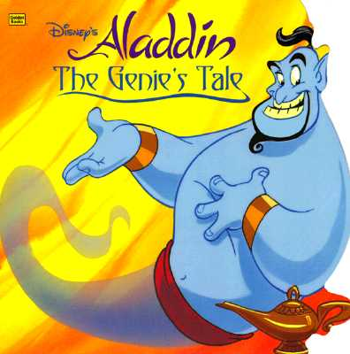 Image for Disney's Aladdin: The Genie's Tale (Golden Super Shape Book)