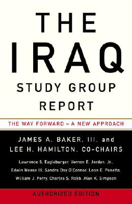 Image for IRAQ STUDY GROUP REPORT THE WAY FORWARD - A NEW APPROACH