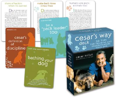 Image for Cesar's Way Deck: 50 Tips for Training and Understanding Your Dog