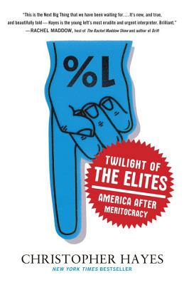 Image for Twilight of the Elites: America After Meritocracy