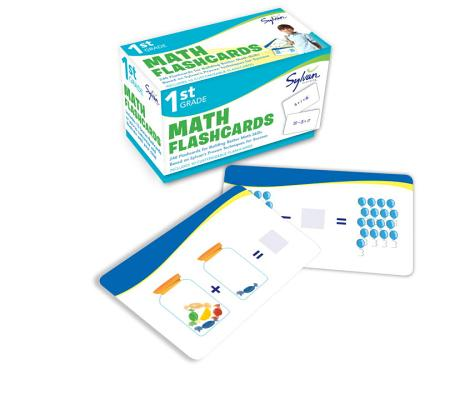 1st Grade Math Flashcards: 240 Flashcards for Building Better Math Skills Based on Sylvan's Proven Techniques for Success (Sylvan Math Flashcards), Sylvan Learning