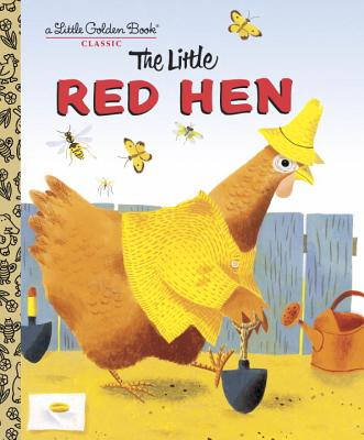 LITTLE RED HEN (LITTLE GOLDEN BOOK), MILLER, J. P.