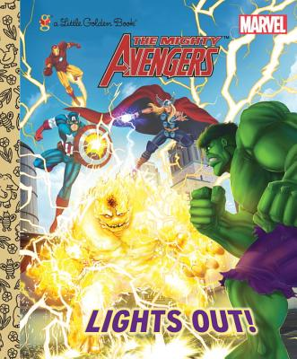 Image for Lights Out! (Marvel: Mighty Avengers) (Little Golden Book)