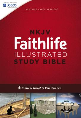 Image for NKJV, Faithlife Illustrated Study Bible, Hardcover, Red Letter Edition: Biblical Insights You Can See