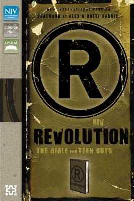 """Image for """"NIV, Revolution: The Bible for Teen Guys, Imitation Leather, Brown: Updated Edition"""""""