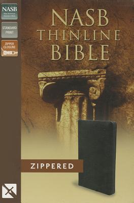 Image for NASB Thinline Zippered Collection Bible