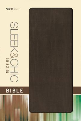 "Image for ""Sleek and Chic Collection Bible (NIVText, Mocha Blast Flexcover, Gilded-Silver Page Edges)"""