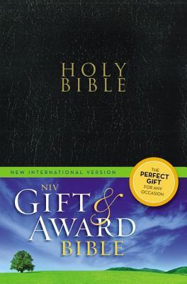 Image for Holy Bible (NIV, Gift and Awad Bible, Black,