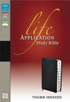 "Image for ""NIV, Life Application Study Bible, Bonded Leather, Black, Indexed, Red Letter Edition"""