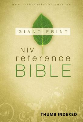 NIV Reference Bible, Giant Print Indexed [Large Print, Deluxe Edition], Zondervan (Author)