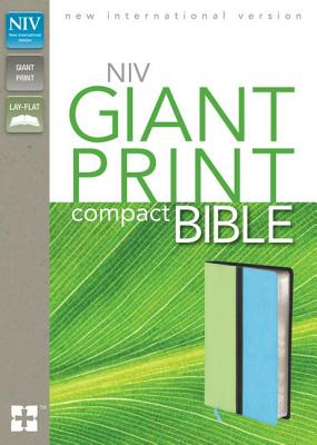 Image for NIV, Giant Print Compact Bible, Giant Print, Leathersoft, Green/Blue