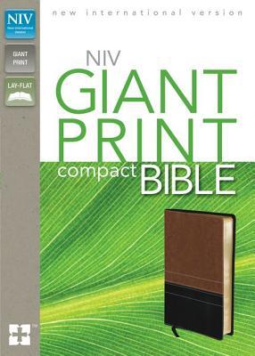 NIV Giant Print Compact Bible, Zondervan