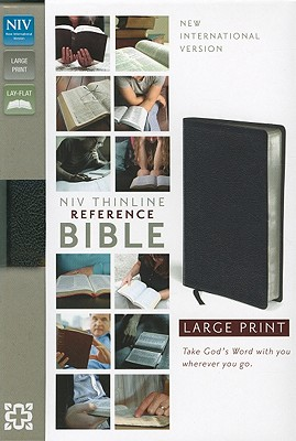 NIV Thinline Reference Bible, Large Print, Zondervan